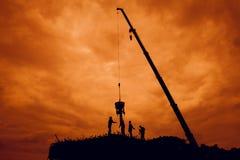 budowa wchodzić do pracy nie strefę Zdjęcia Royalty Free