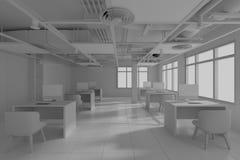budowa wchodzić do pracy nie strefę wewnętrzny projekt 3d odpłaca się zdjęcie royalty free