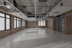 budowa wchodzić do pracy nie strefę wewnętrzny projekt 3d odpłaca się fotografia stock