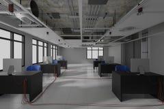budowa wchodzić do pracy nie strefę wewnętrzny projekt 3d odpłaca się obrazy stock