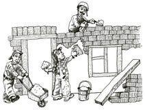 Budować (wektor) Obraz Stock