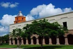 budowa wieży uniwersytetu Obrazy Royalty Free