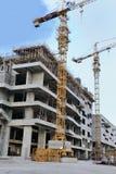 Budowa z żurawiem target329_1_, Fotografia Stock