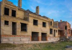Budowa zatrzymująca przez kryzysu tam jest żadny inwestycją Niebezpieczeństwo zniszczenie Obrazy Royalty Free