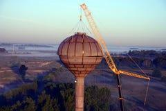 budowa zbiornika wody Zdjęcie Stock