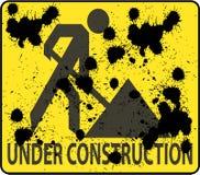 budowa znak Ilustracji