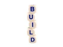 budowanie domów Fotografia Stock