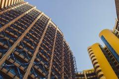 budowanie nowoczesnej architektury Fotografia Royalty Free