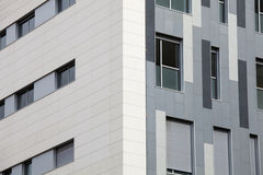 budowanie nowoczesnej Zewnętrznie fasada nowożytny budynek barcelona Spain Obraz Stock