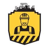 Budowniczego mężczyzna ikona Zdjęcie Royalty Free