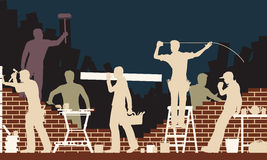 Budowniczowie Zdjęcie Stock