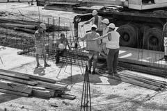 Budowniczowie dla budowy Fotografia Stock