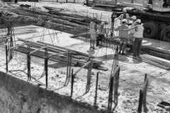 Budowniczowie dla budowy Obrazy Stock