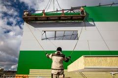 Budowniczy praca fotografia stock