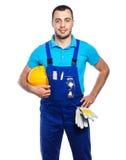 Budowniczy - pracownik budowlany fotografia stock