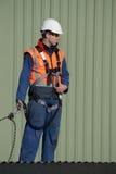 Budowniczy przygotowywający iść Zdjęcie Stock