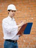 budowniczych dokumenty Zdjęcie Stock