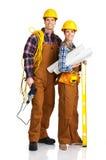 budowniczych ludzie Obraz Royalty Free