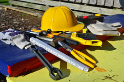 budowniczych narzędzia Zdjęcia Stock