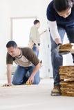 Budowniczych pracować Zdjęcie Stock