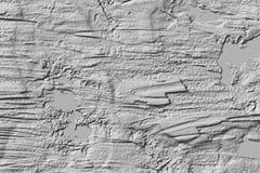 Budowy ściany cementu biały tło, abstrakcjonistyczna tekstura ilustracji