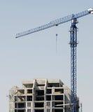 budowy żurawia miejsce zdjęcie royalty free