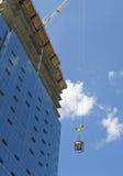 budowy żurawia wyposażenia chodzenia miejsce Fotografia Stock