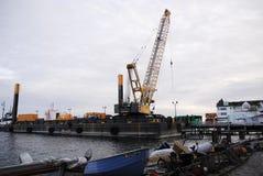 Budowy barki budować Obrazy Stock