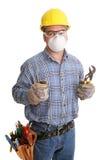 budowy bezpieczeństwa pracowników zdjęcia royalty free