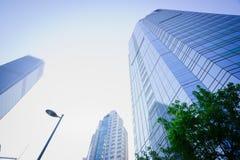 budowy budynków biznesowy postęp Obrazy Royalty Free
