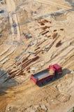 budowy ciężarówka Obraz Stock