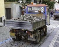 Budowy ciężarówka zdjęcia royalty free