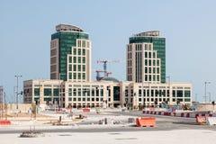 budowy Doha Qatar miejsce Obraz Stock