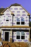 budowy domowy nowy miejsca pracownik Obrazy Royalty Free