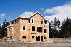 budowy domowy nowy poniższy Fotografia Royalty Free