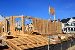 budowy domu miejsce fotografia royalty free