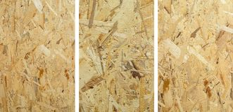 Budowy drewna talerz OSB - odwrotna strona obraz royalty free