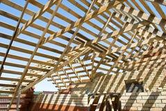 budowy drewno Fotografia Stock