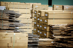 budowy drewno Obrazy Stock