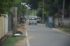 Budowy droga zdjęcie royalty free