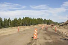 budowy droga obrazy royalty free