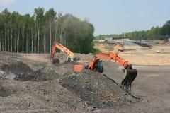 budowy droga Zdjęcie Stock