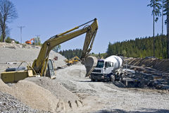 budowy droga Obrazy Stock