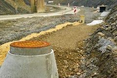 budowy droga Zdjęcia Stock