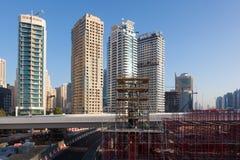 budowy Dubai miejsce Fotografia Royalty Free