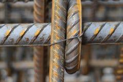 Budowy żelazo Fotografia Royalty Free