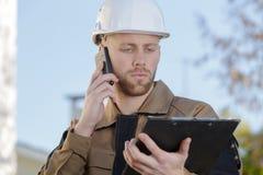 Budowy faktorska przekaźnikowa informacja Fotografia Stock