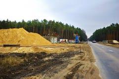 budowy flyover Zdjęcie Stock