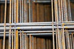 Budowy i budynku żelazo Obrazy Stock