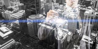 Budowy inwestyci pojęcie obrazy stock
